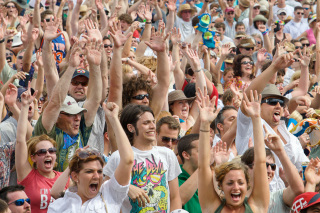 Hands Up Crowd, New Orleans Jazz & Heritage Festival