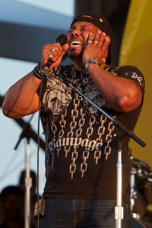 Aaron Neville, Amazing Grace, Acura Stage, May 8, 2011