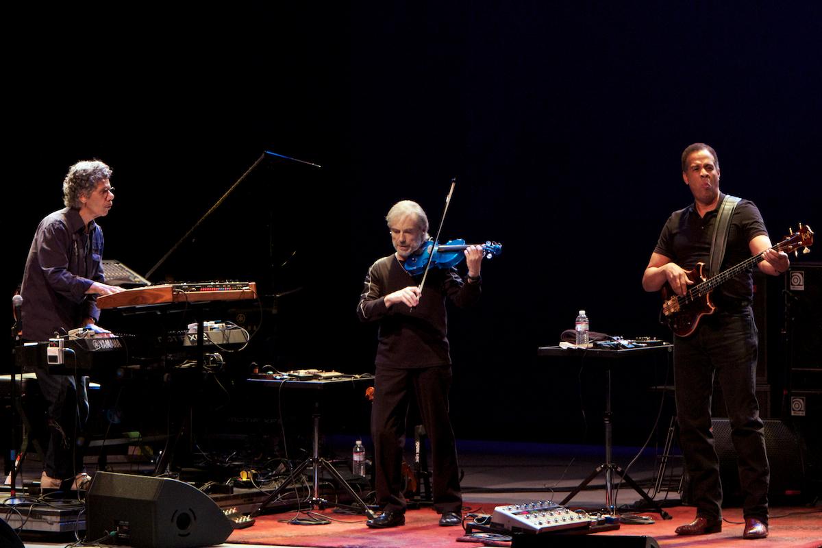Chick Corea, Jean-Luc Ponty and Stanley Clarke