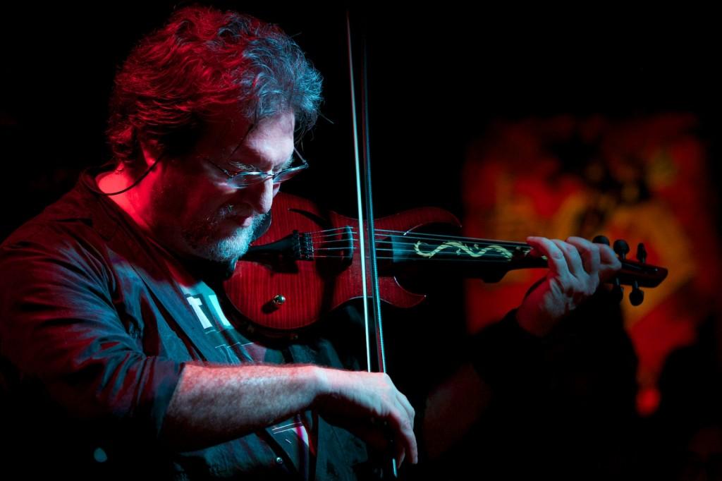 Former Mahavishnu Orchestra violinist Jerry Goodman