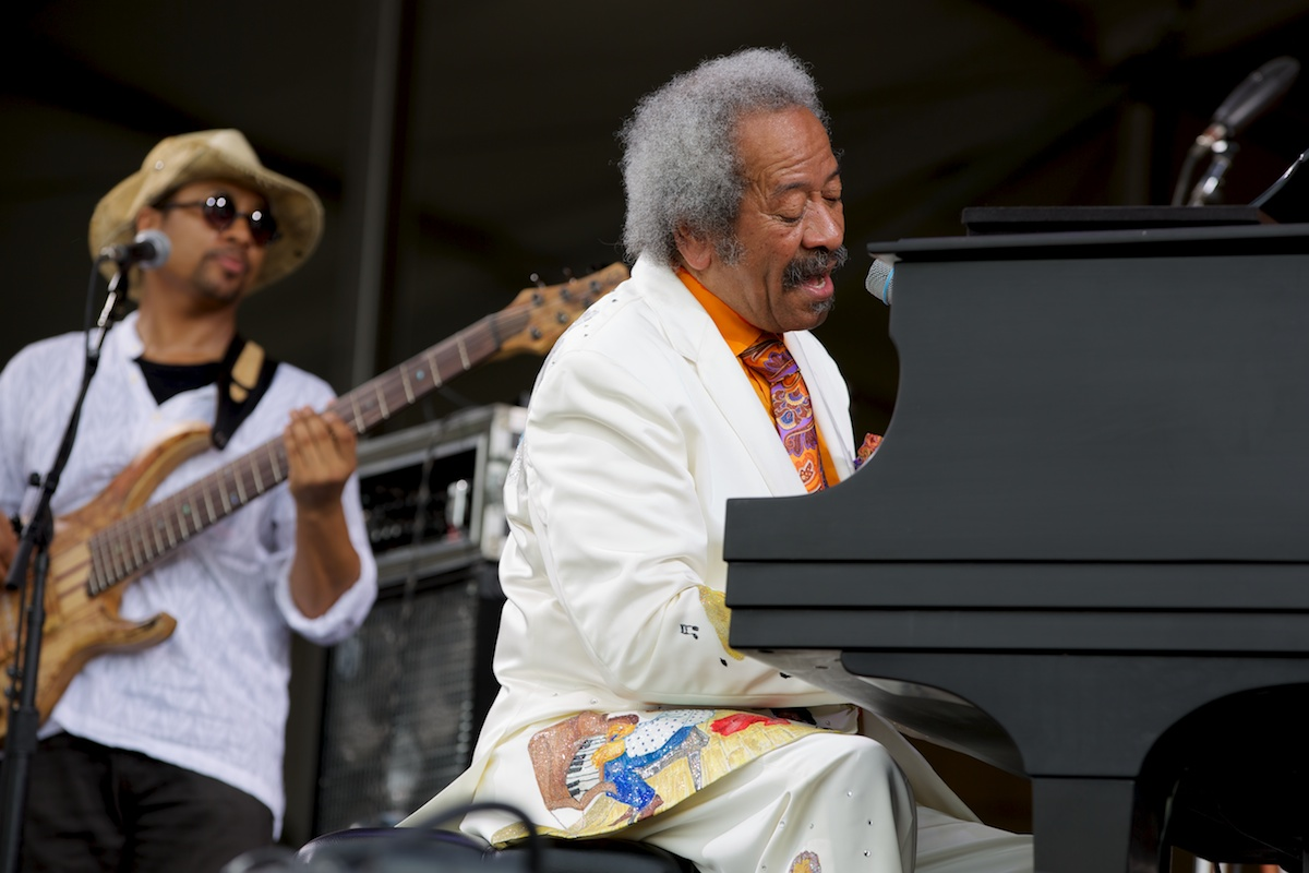 Piano man and New Orleans legend, Allen Toussaint