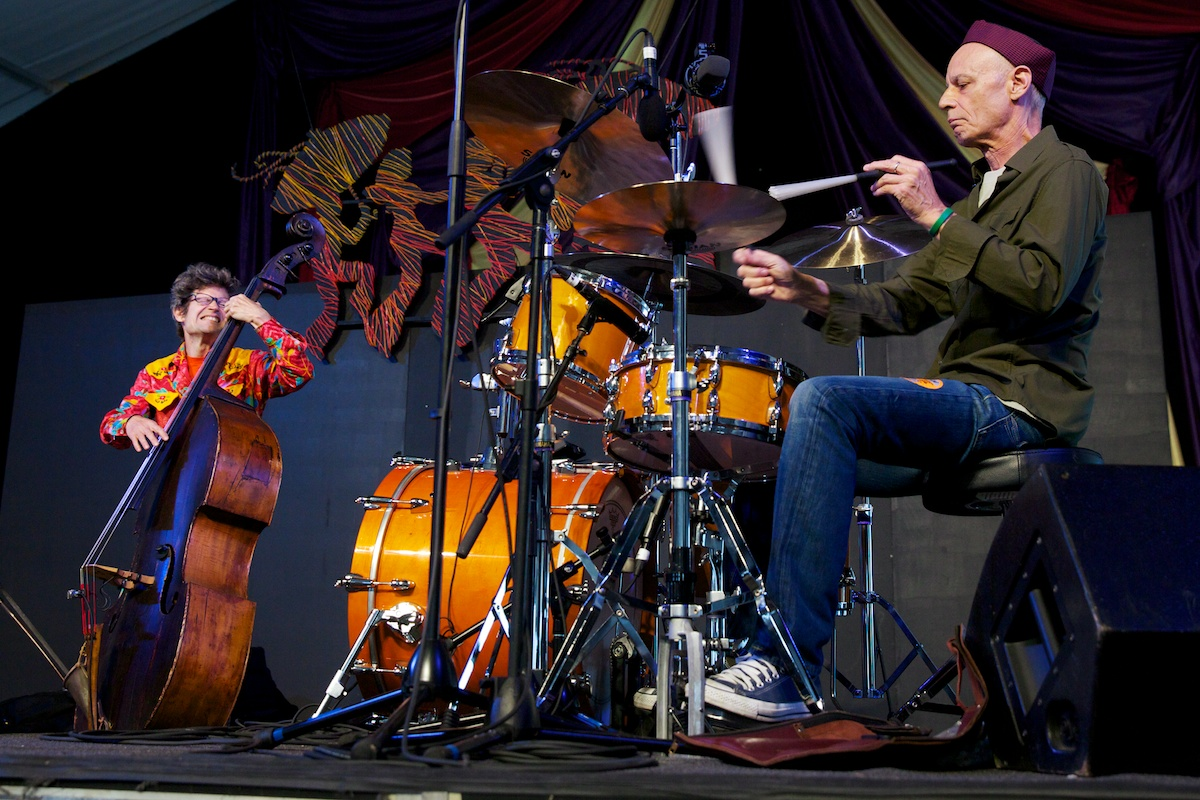Astral Project's rhythm sectio of Johnny Vidacovih and James Singleton, 24 and counting