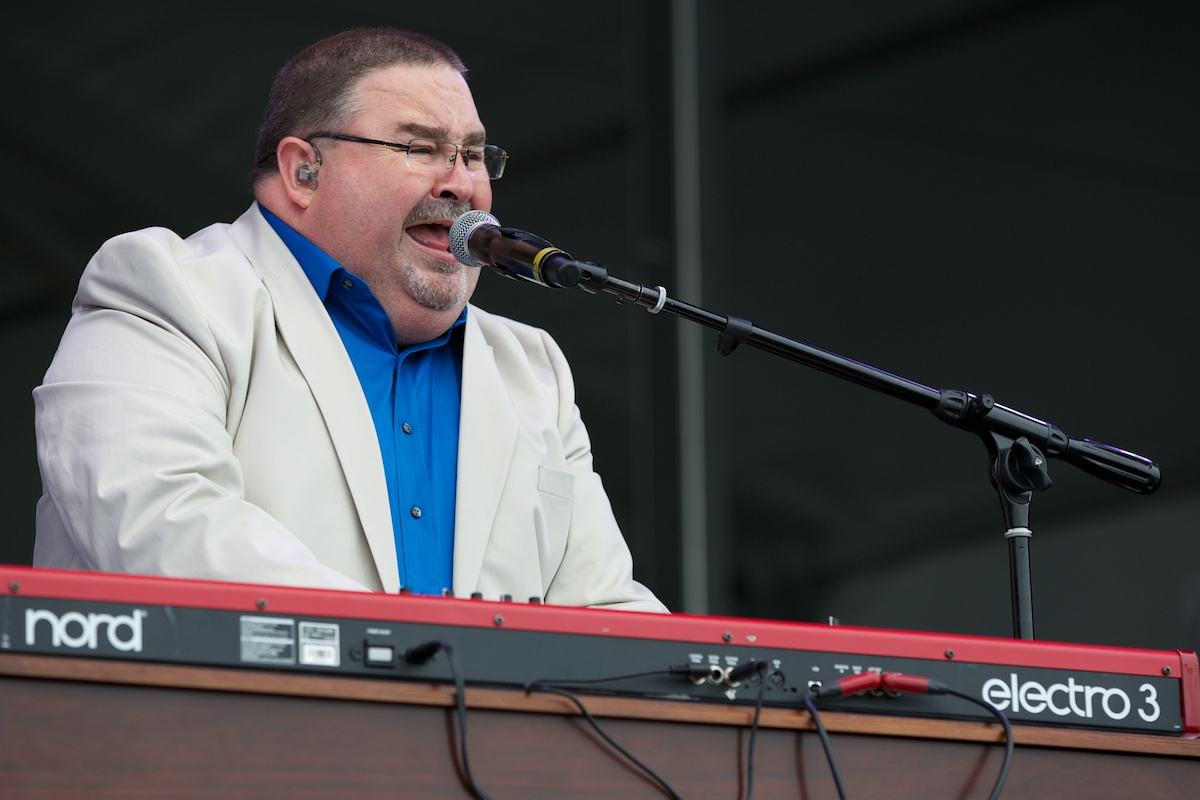 """Funk goes out in style with """"Papa"""" John Gros"""