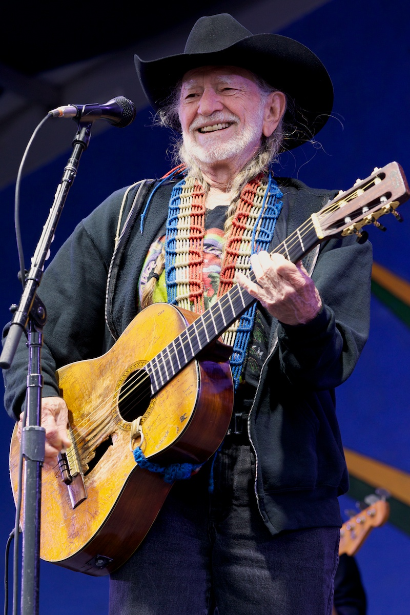 No stranger Wille Nelson is 80 years old and still smokin'