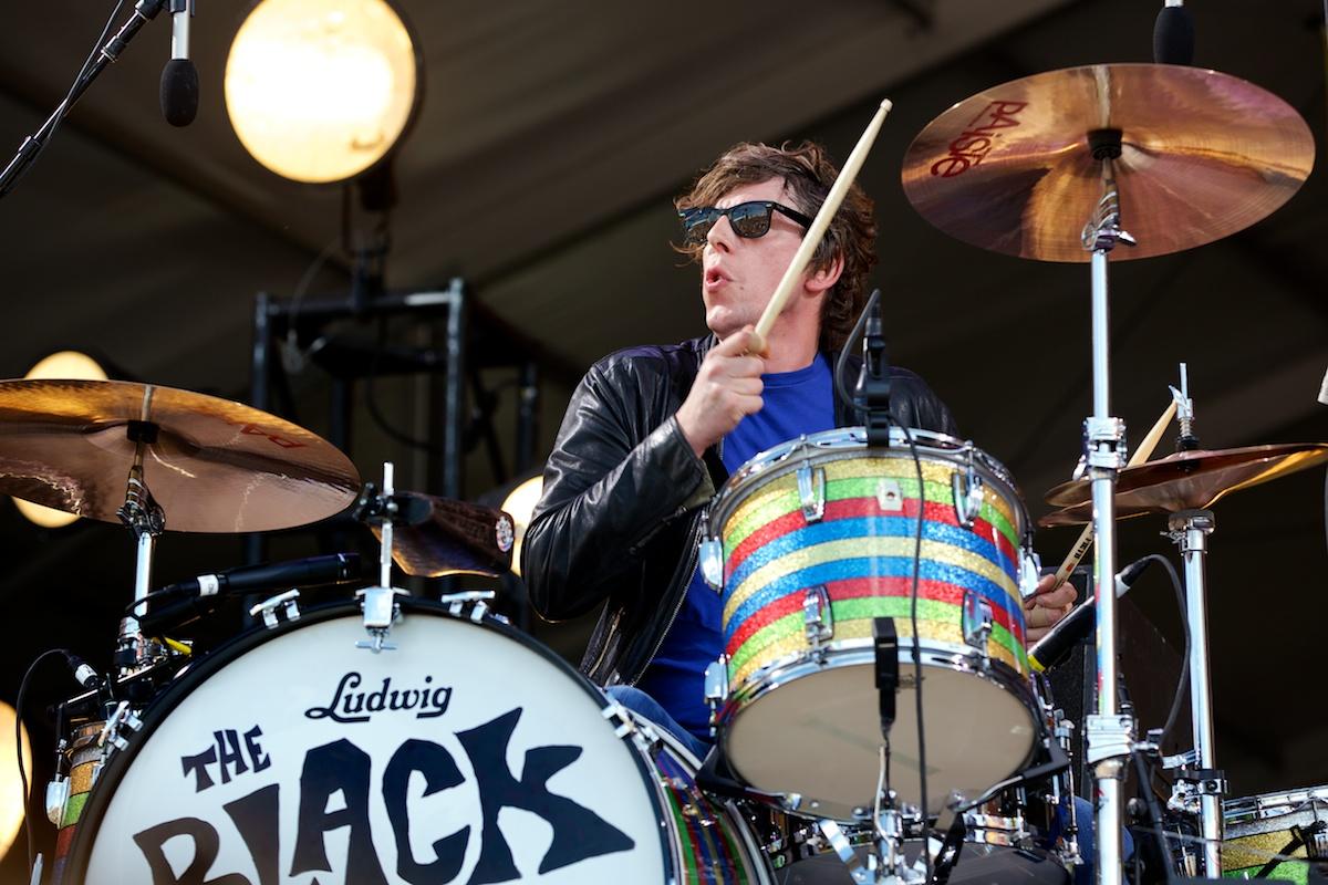 Black Keys' Patrick Carney making some noise
