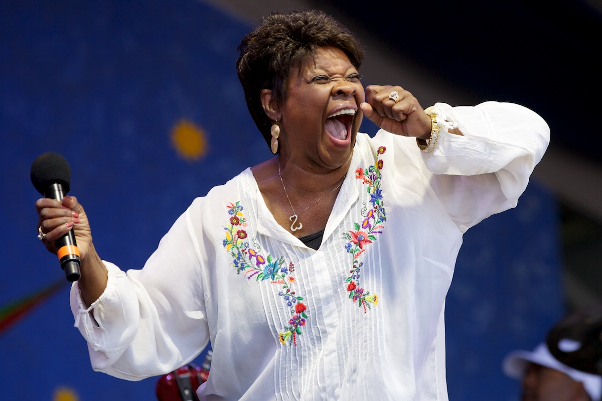 New Orleans soul queen, Irma Thomas
