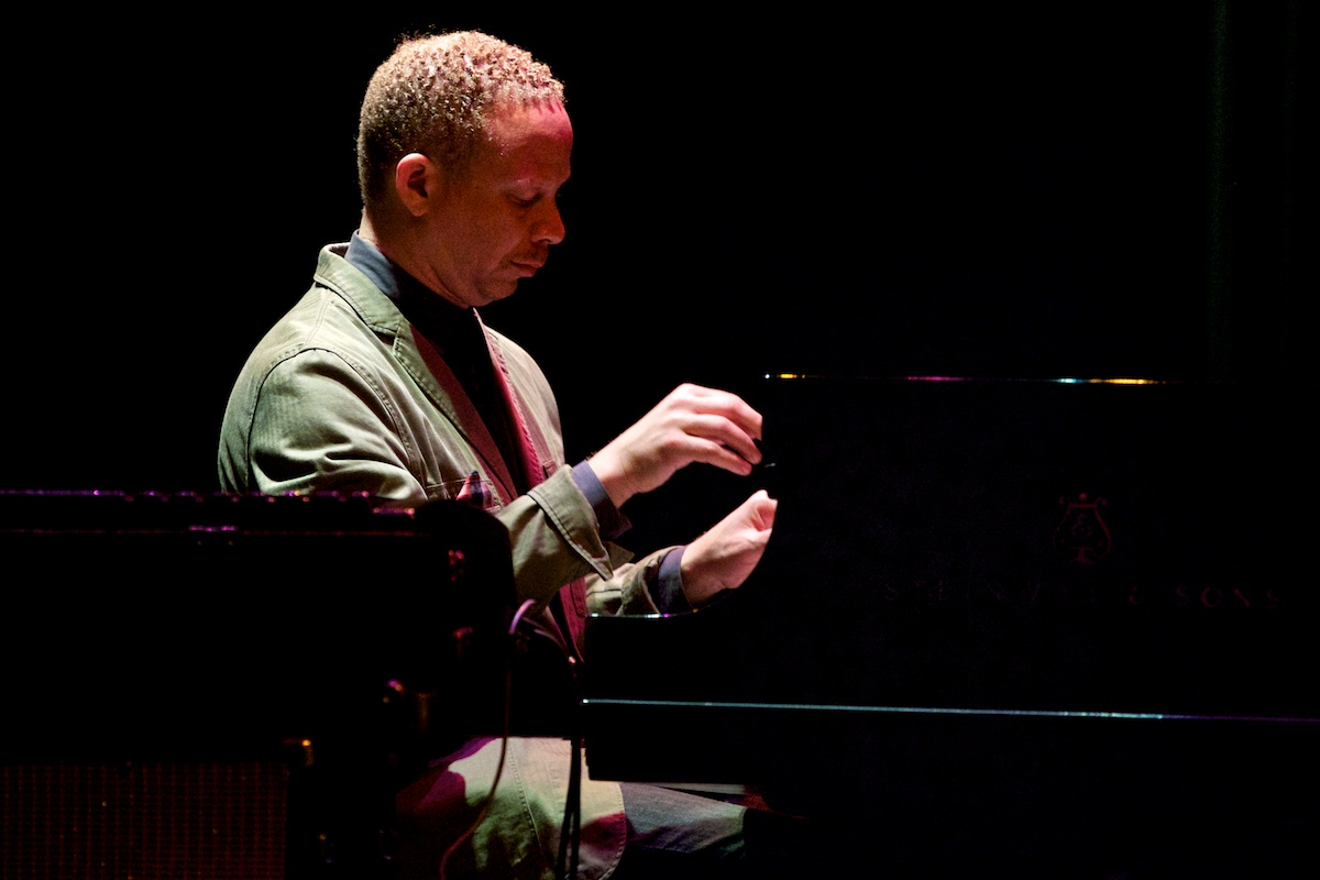 Craig Taborn performing with the Prism band