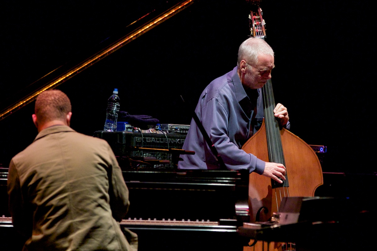 Dave Holland and Craig Taborn lean in
