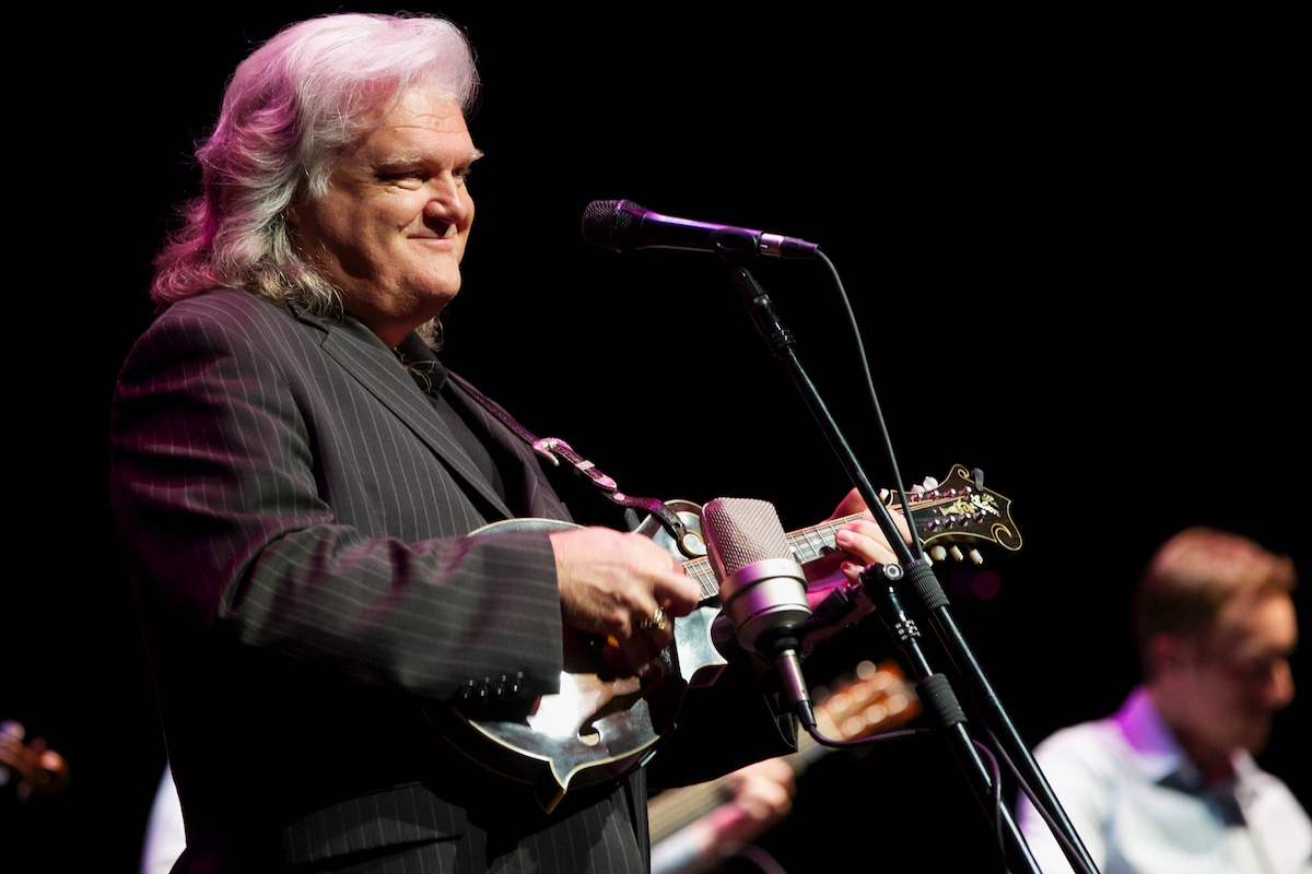 Bluegrass is feel good music, especially in the hands of Ricky Skaggs