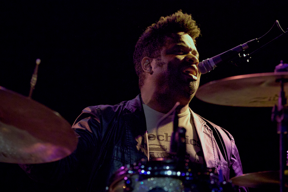 Not just a drummer, Eric Bolivar