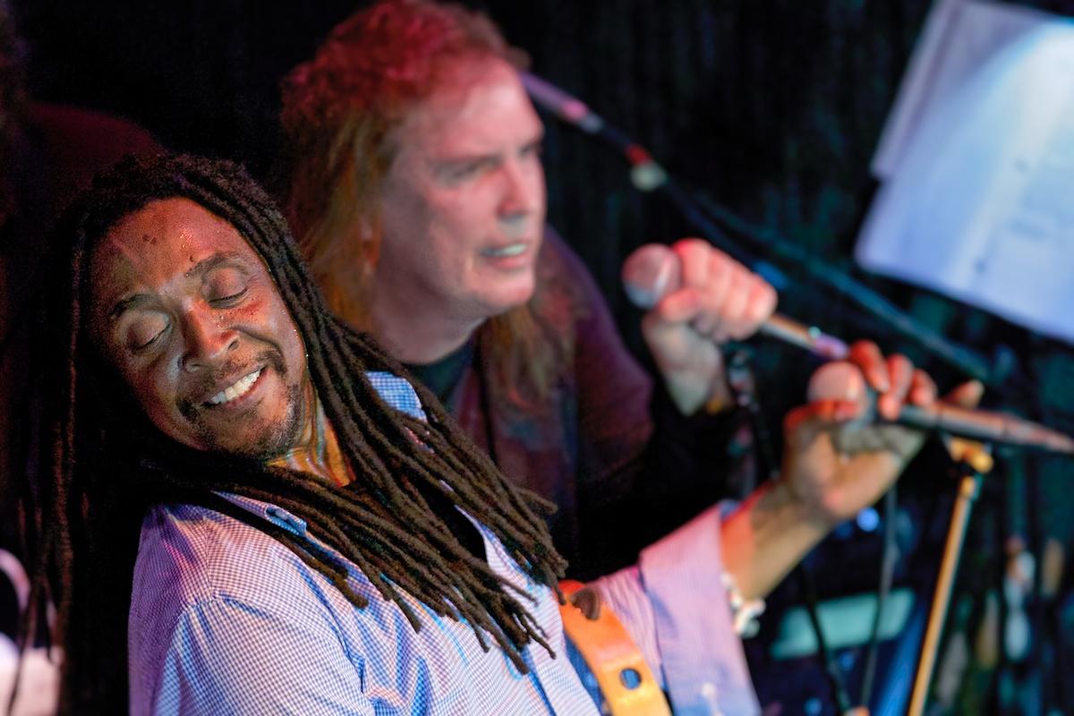 Vocalists Bernard Fowler and Jamie Savko
