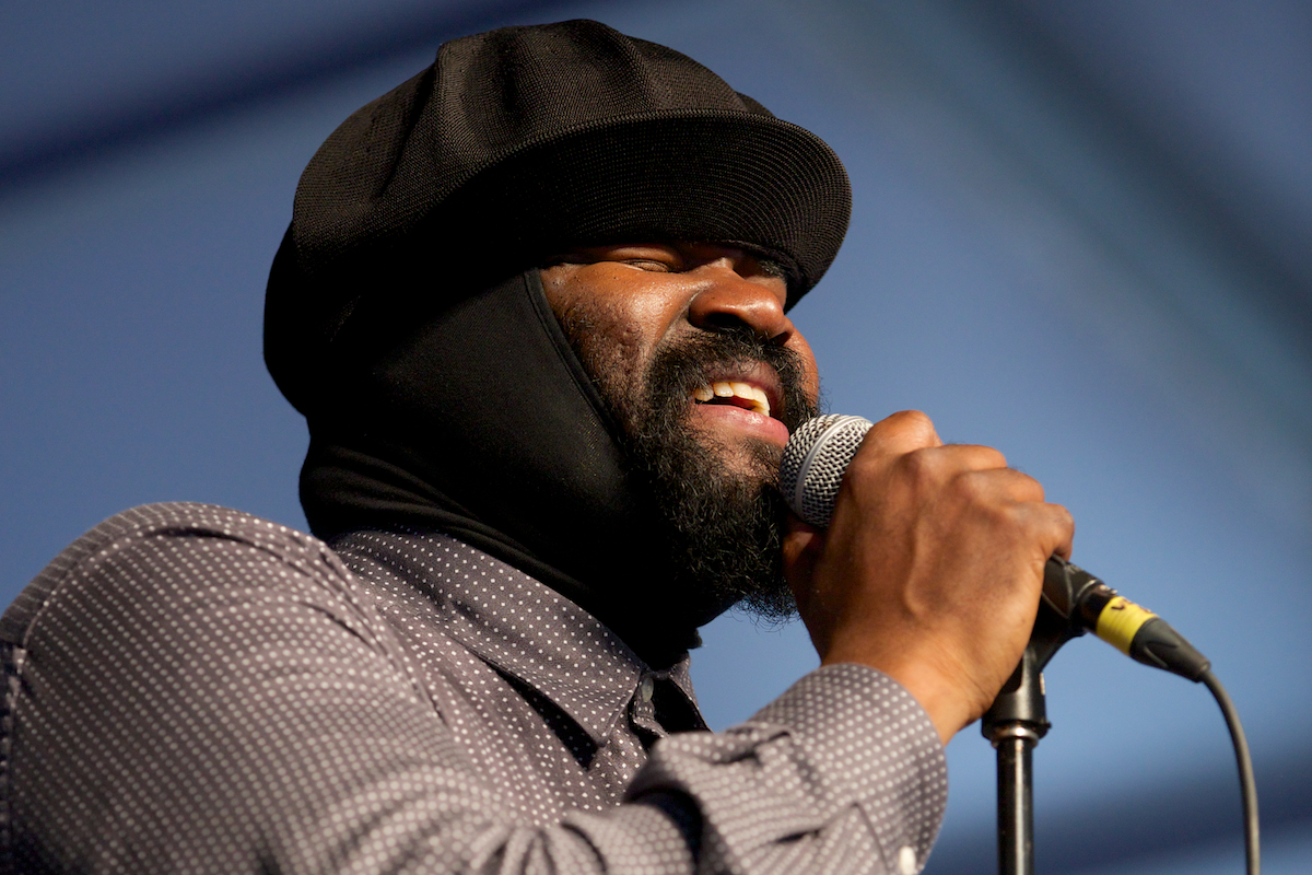 """Gregory Porter, """"the jazz singer with the soul voice"""""""
