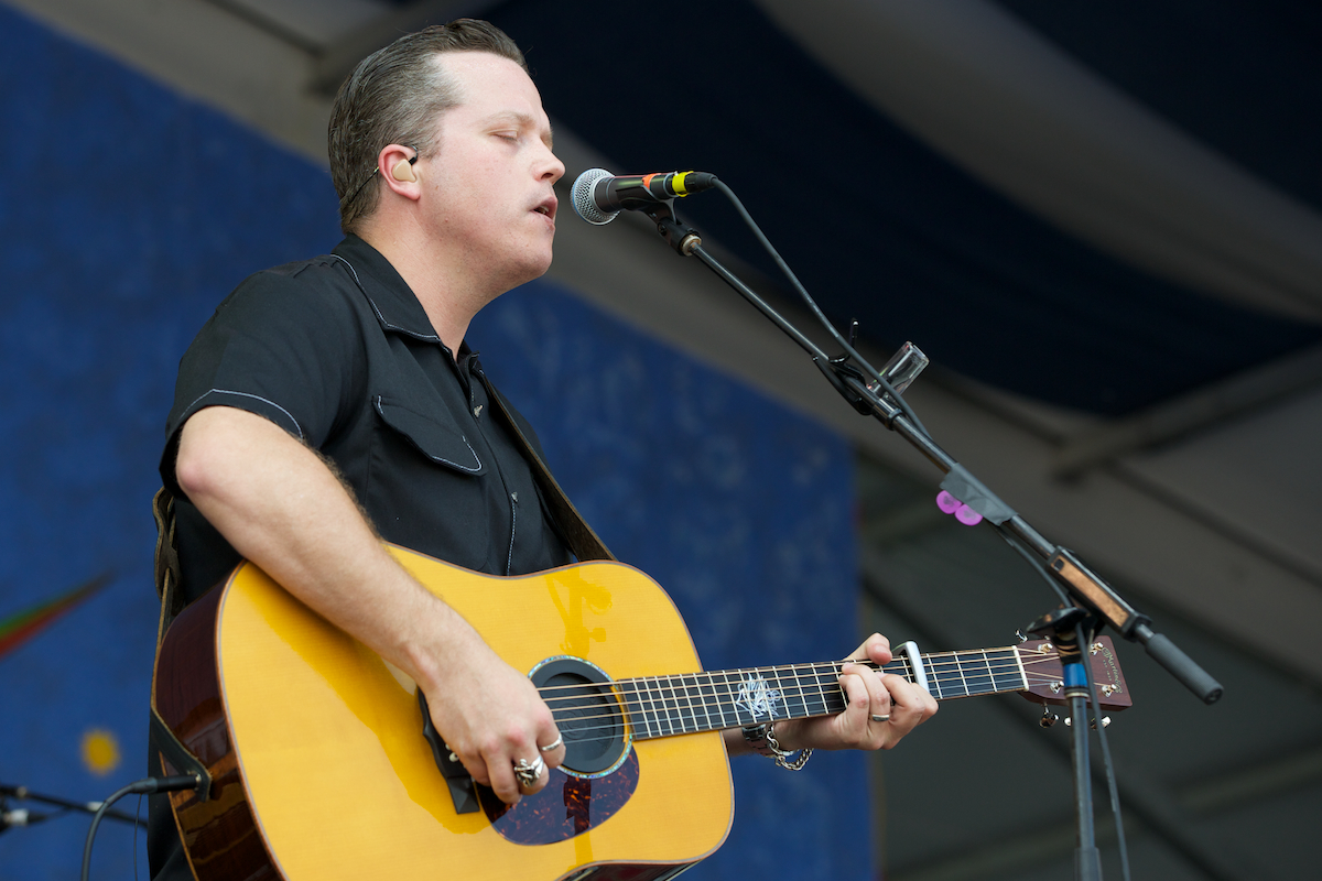 Jason Isbell, excellent all the way around