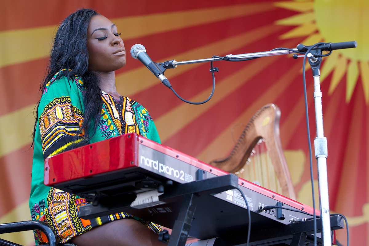 Laura Mvula from the Acura Stage