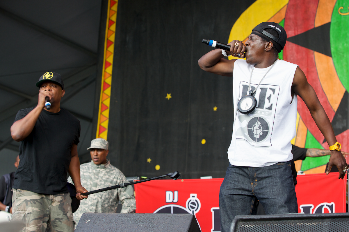 Not the flavor of the month, Public Enemy at Congo Square