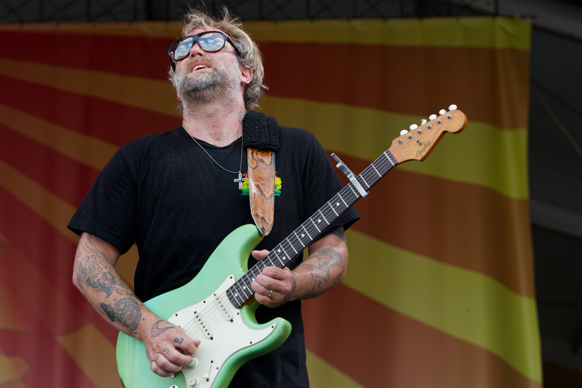 Blue sky and Anders Osborne = Fest at its best
