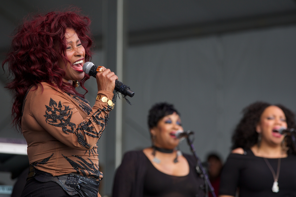 Chaka Khan at the Congo Square Stage