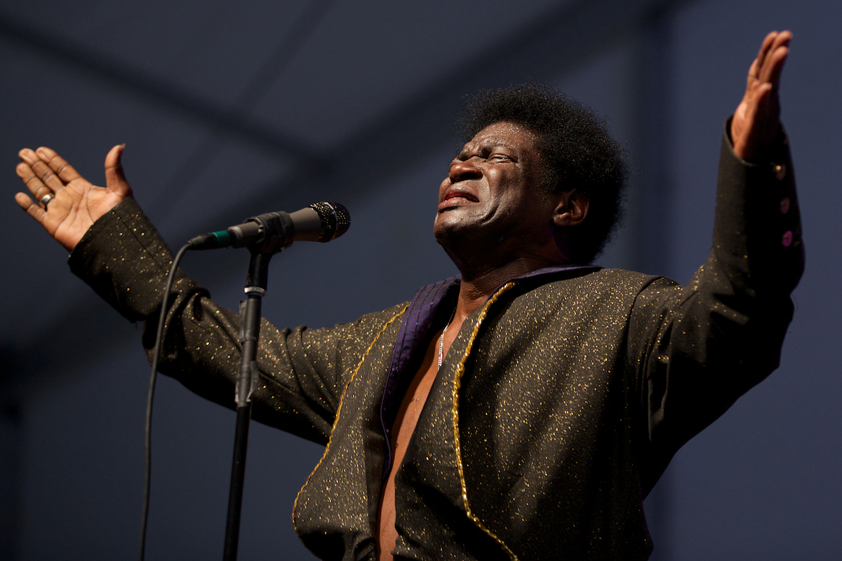 Charles Bradley sans Extraordinaires in the Blues Tent