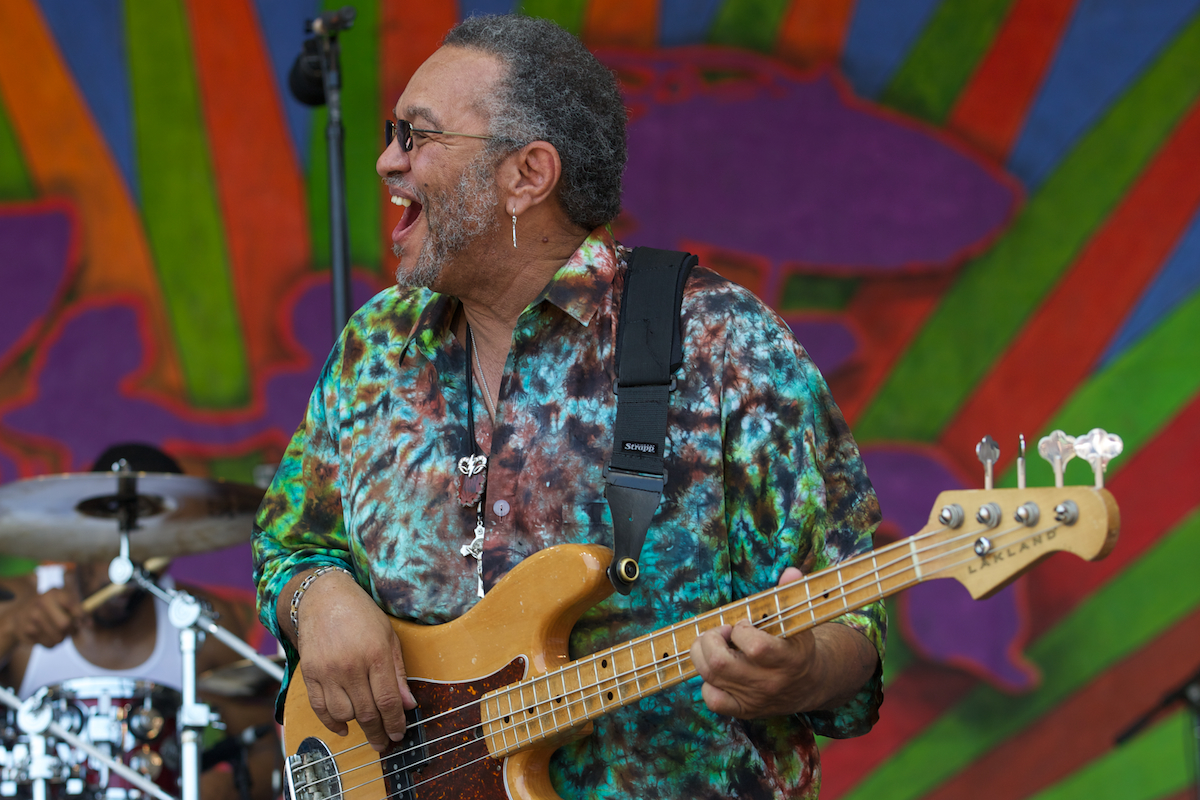 George Porter, Jr. four string funk had me grinning, too