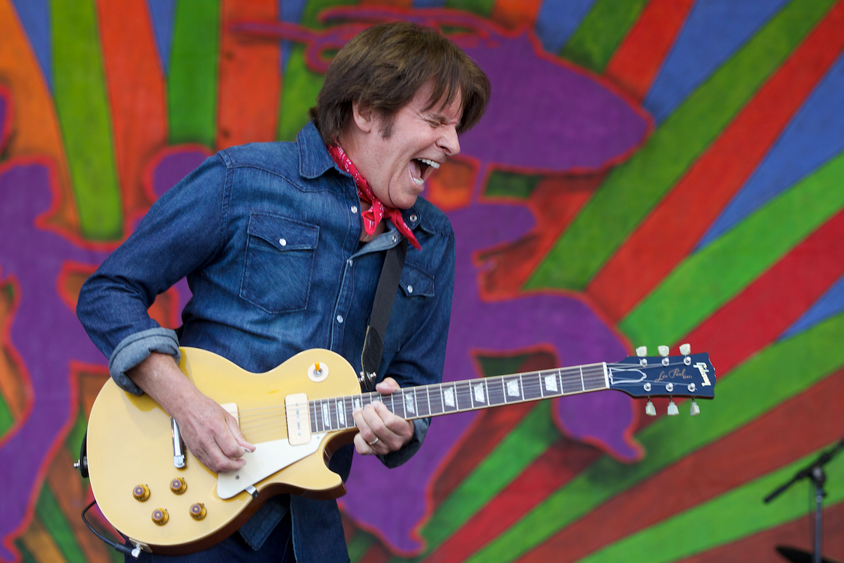 John Fogerty brought it on home