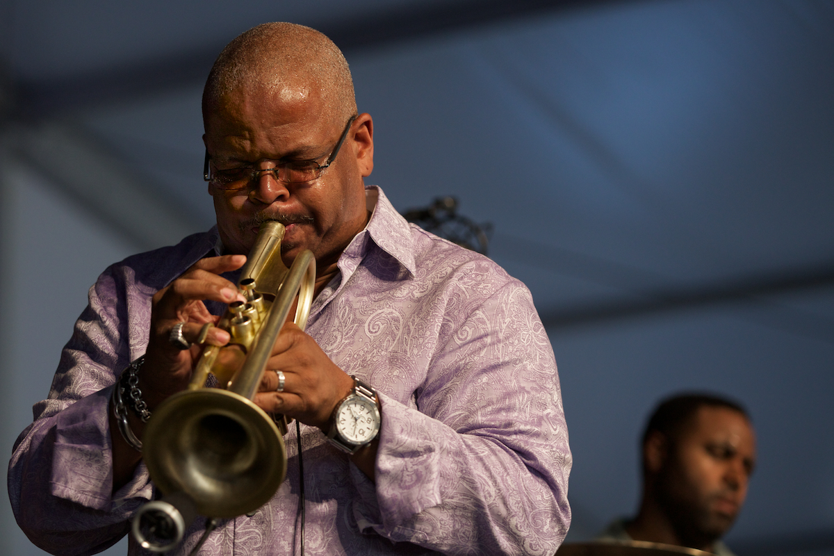 Terence Blanchard led his Group through another sublime Fest set