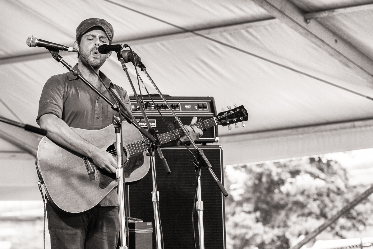 Gregory Alan isakov had everyone's attention
