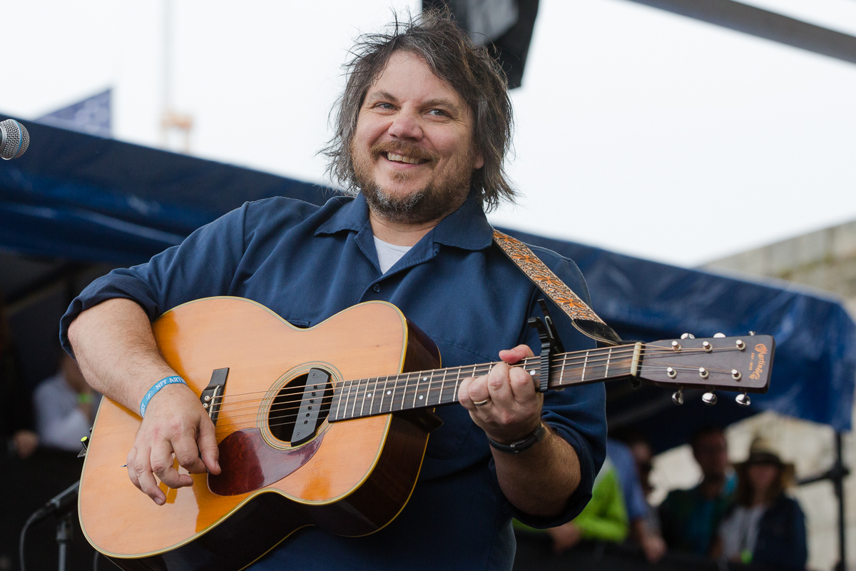 Jeff Tweedy was happy to be holding down the Fort