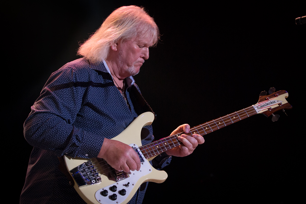 Chris Squire and is Rickenbacker