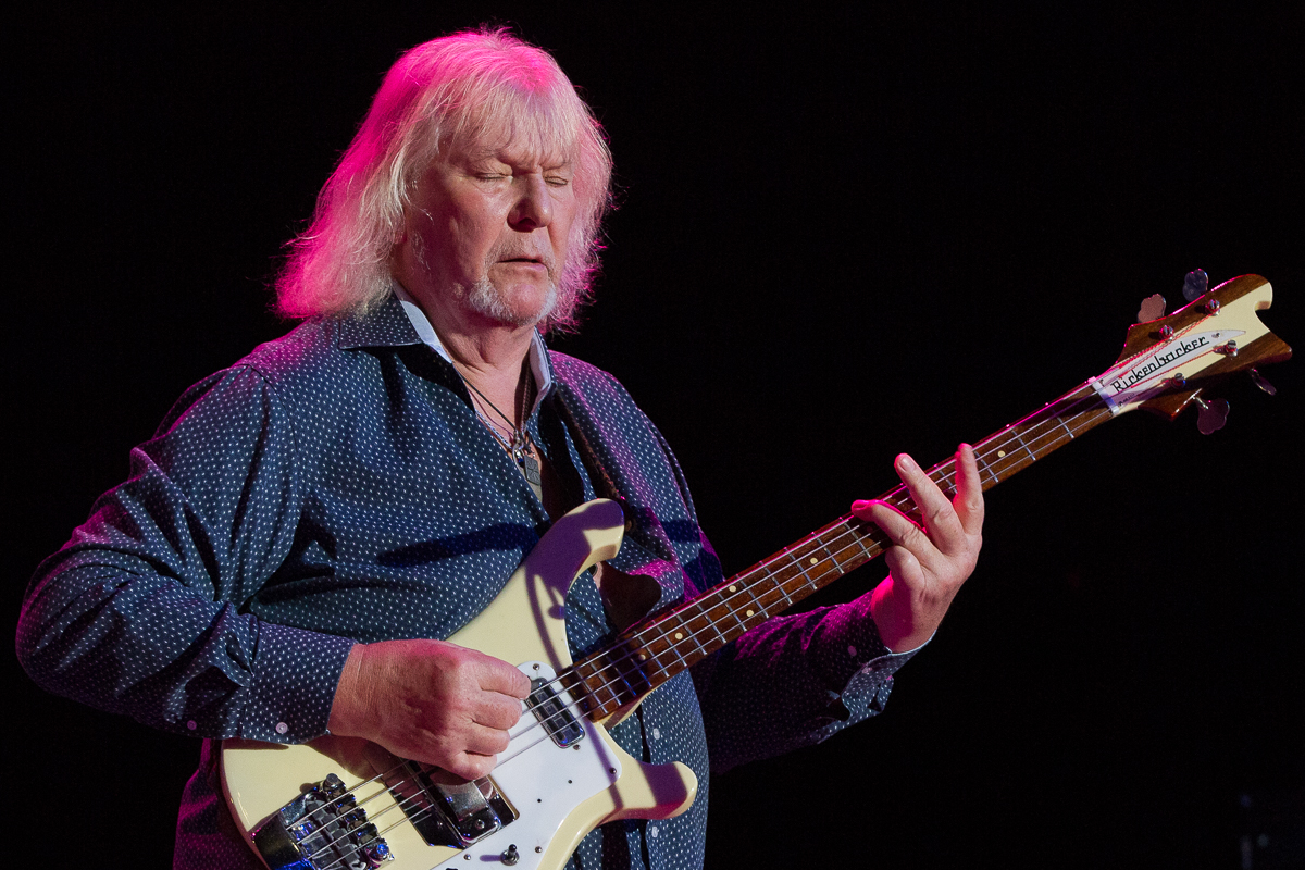 Chris Squire with Yes at The Greek