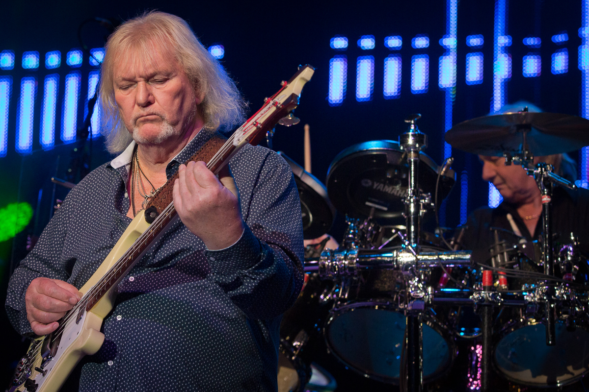 Jim Brock Photography-Yes -Greek Theatre-Chris Squire Alan White