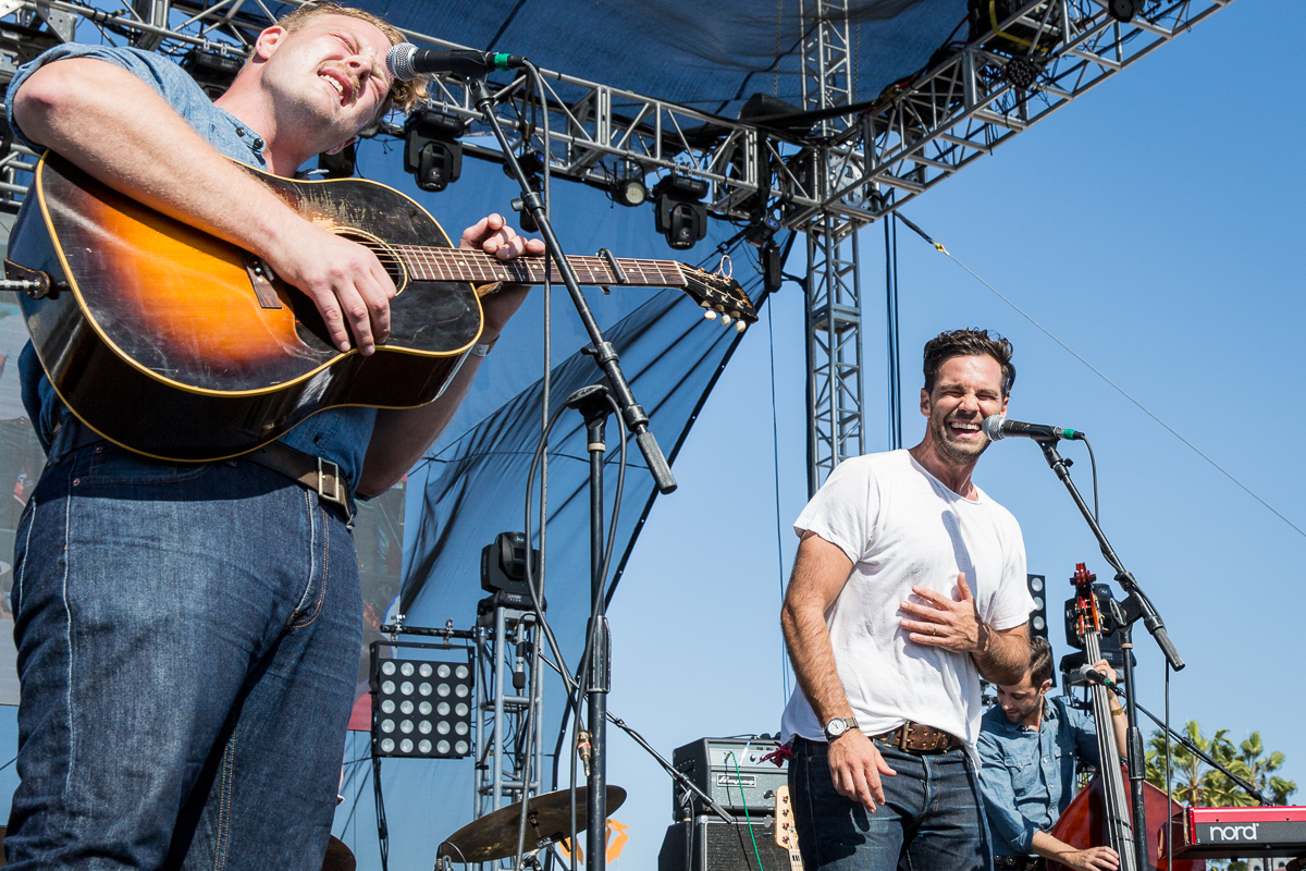 Brian Elmquist and Zack Williams of The Lone Bellow
