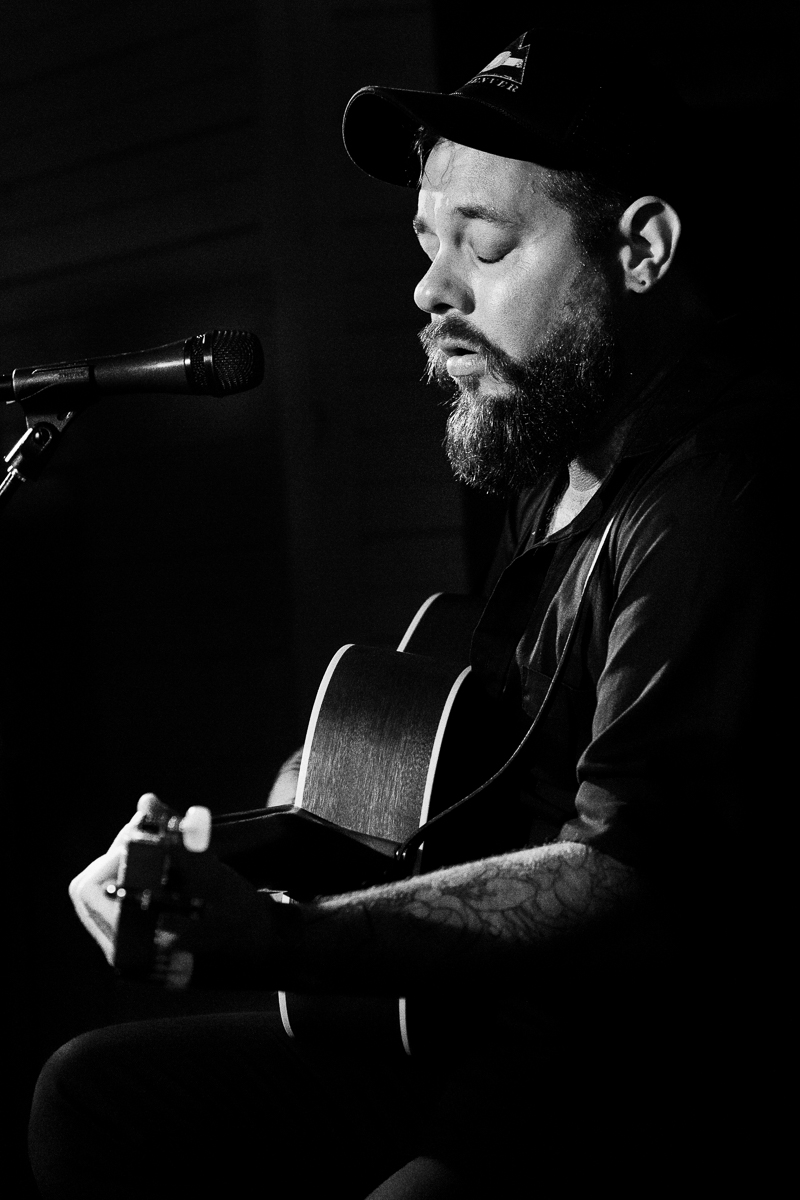 Nathaniel Rateliff closed out the quirkily intimate Carousel Stage