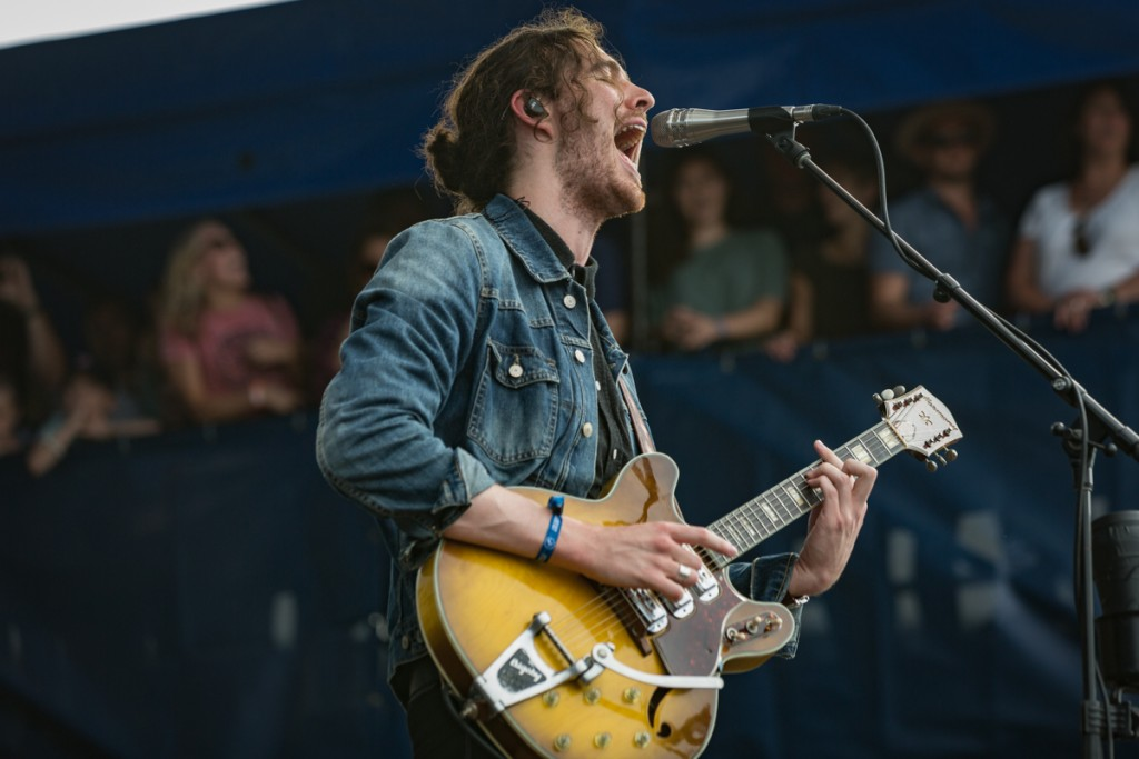 Hozier holds down the Fort Stage