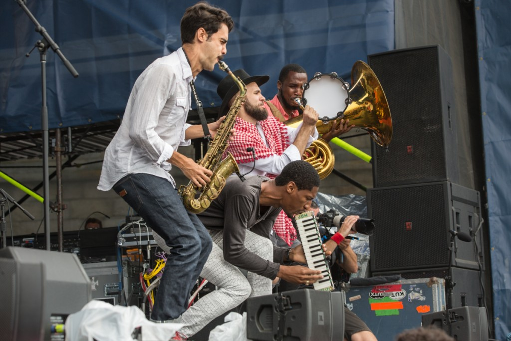 Jon batiste and Stay Human , the first of a Newport twofer