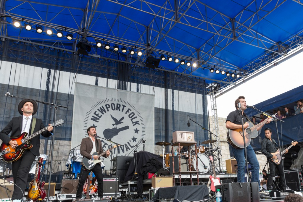Lord Huron oversees the Fort Stage