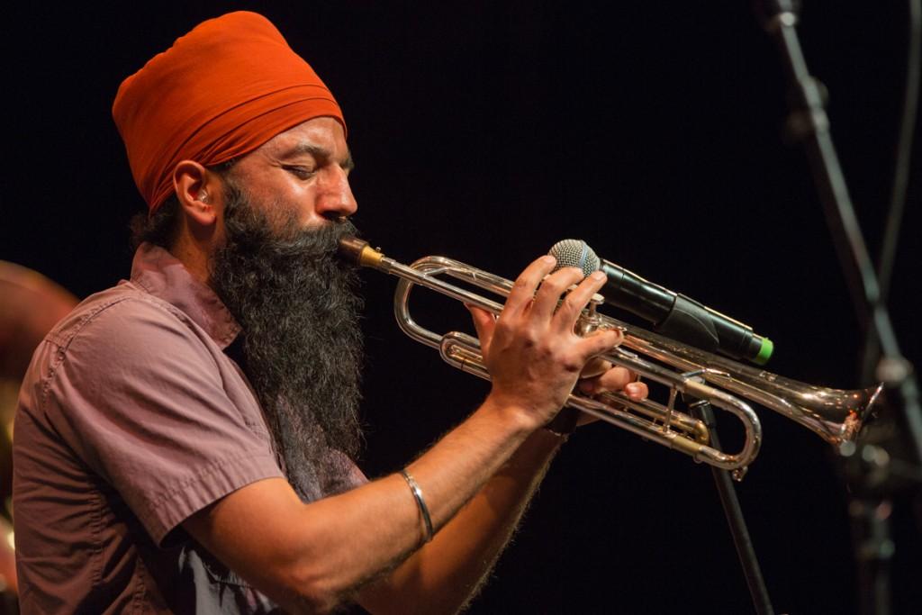 Trumpeter Sonny Singh