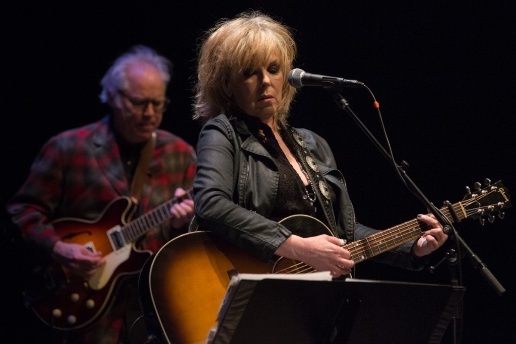 Lucinda Williams and Bill Frisell