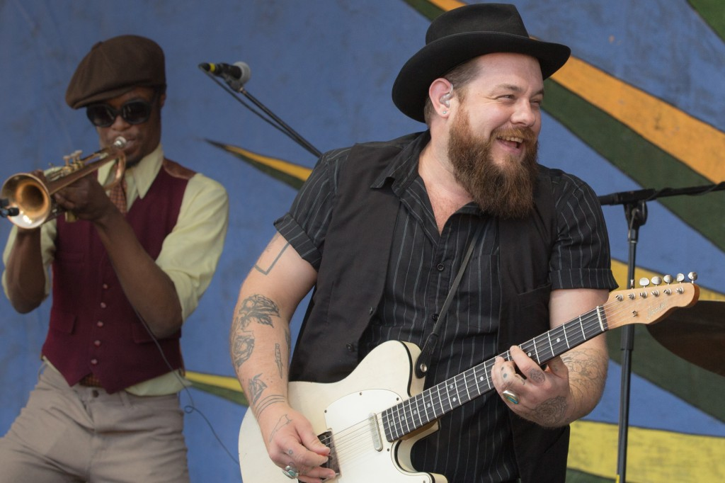 Nathaniel Rateliff let loose with the Nightsweats