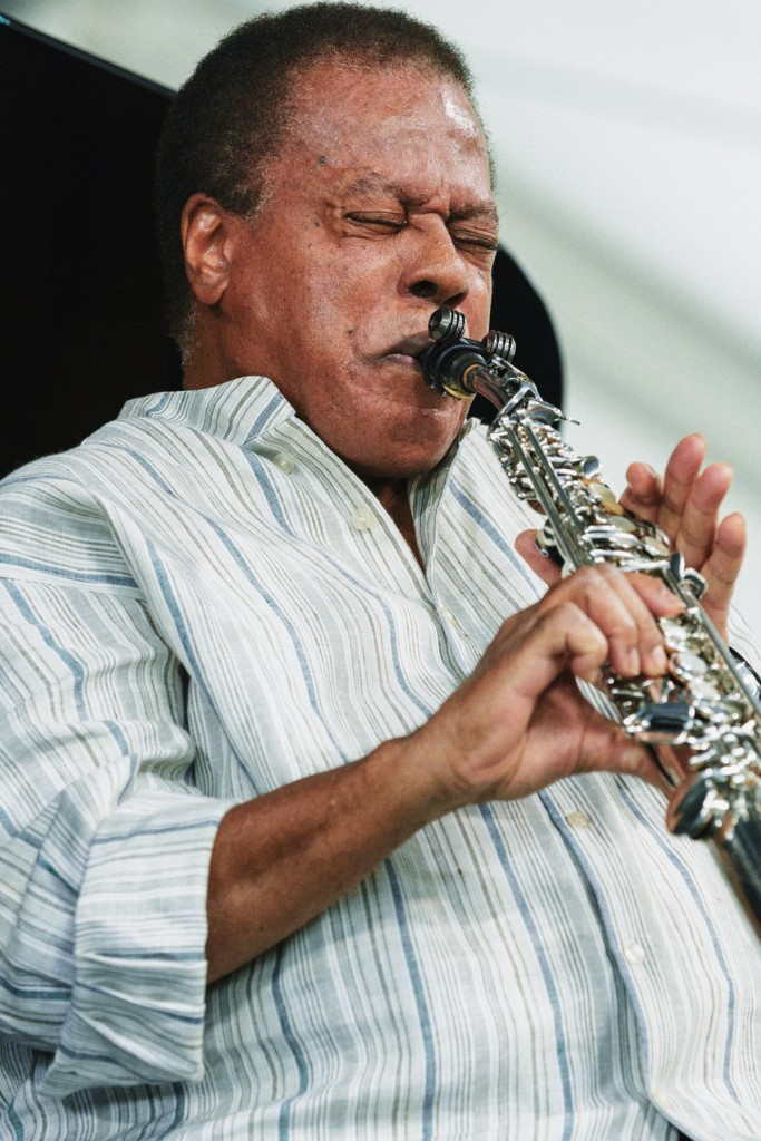 ...and Wayne Shorter, painting with notes