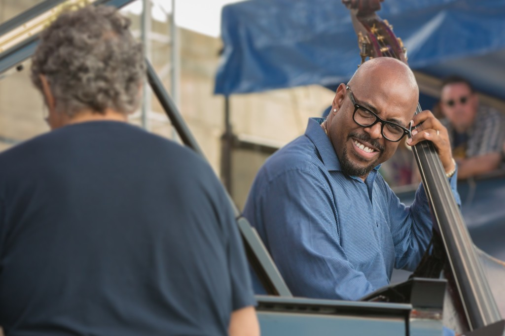 ...with incoming Artistic Director Christian McBride holding it down
