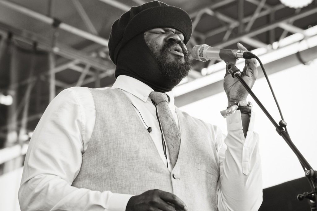 The soulful Gregory Porter closed Saturday at Newport