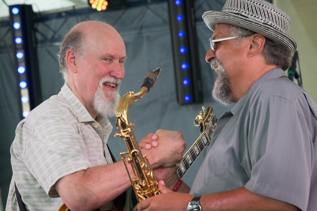 Berklee chums-alums Joe Lovano and John Scofield