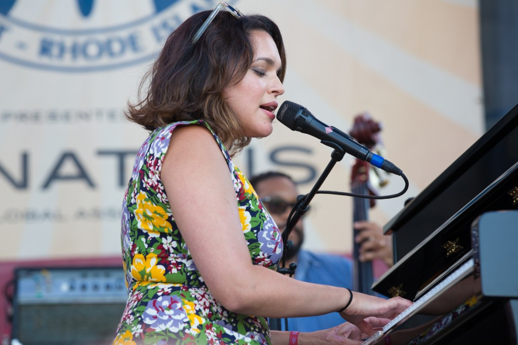 Norah Jones did the Newport double dip