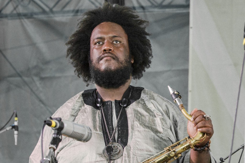 Kamasi Washington blew the tent open, wow