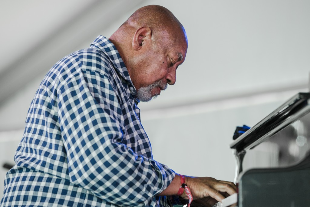 Kenny Barron leading his trio